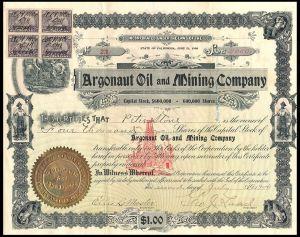 Argonaut Stock